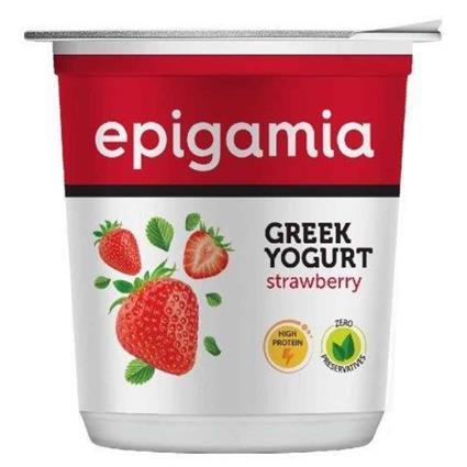 Epigamia Greek Yogurt - Strawberry 400G