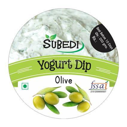 Olive Yogurt Dip - Subedi