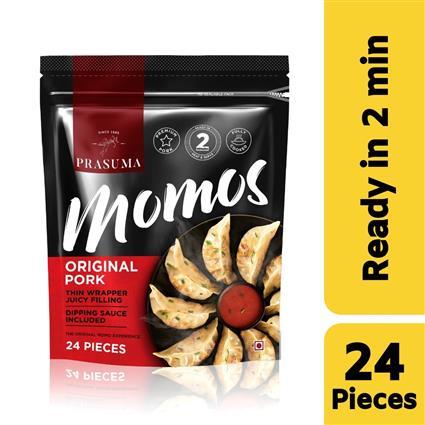 PRASUMA MOMOS ORGNL PORK 24 PC