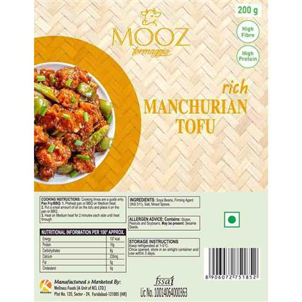 MOOZ MANCHURIAN TOFU 200G