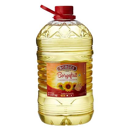 BORGEFRIT HIGH OLIEC SUNFLOWER JAR 5Ltr