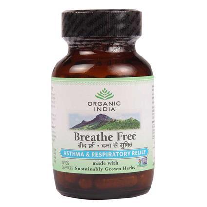 Breathe Free - 60 Capsules - Organic India