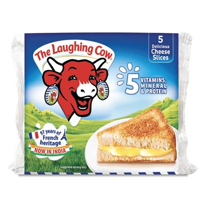 THE LAUGHING COW CHEESE SLICES 100G
