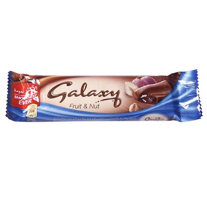 Fruit & Nuts Chocolate - Galaxy