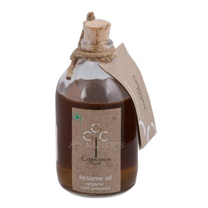 Organic Cold Pressed Sesame Oil - Conscious Food