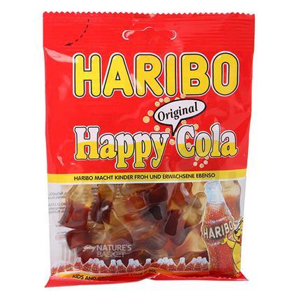 Happy Cola Gummy Candies - Haribo