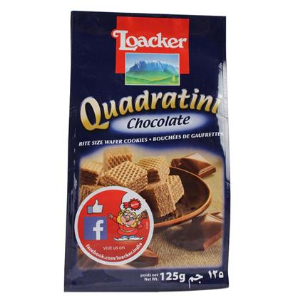 Quadratini Chocolate Wafers - Loacker