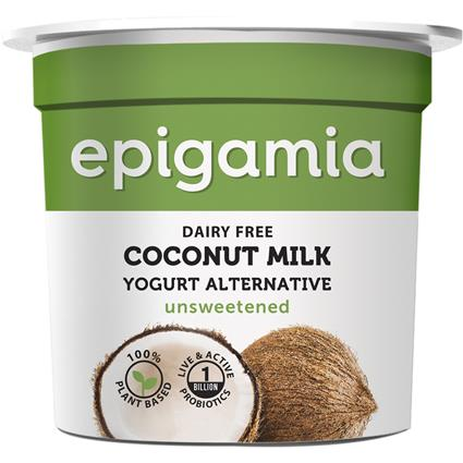 EPIGAMIA COCONUT MILK YOGURT UNSWTND 90G