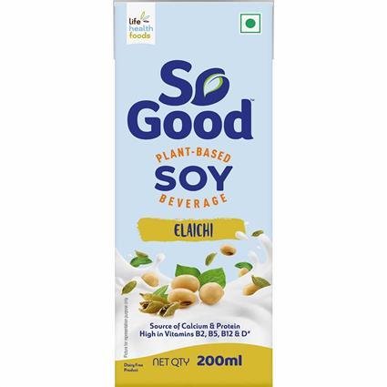 So Good Soy Milk Elaichi Flavour 200Ml