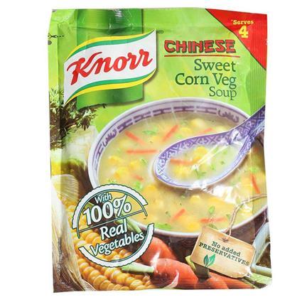 Sweet Corn Veg Soup-Knorr